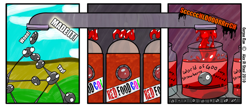 Corpse Run 003: World of jelly