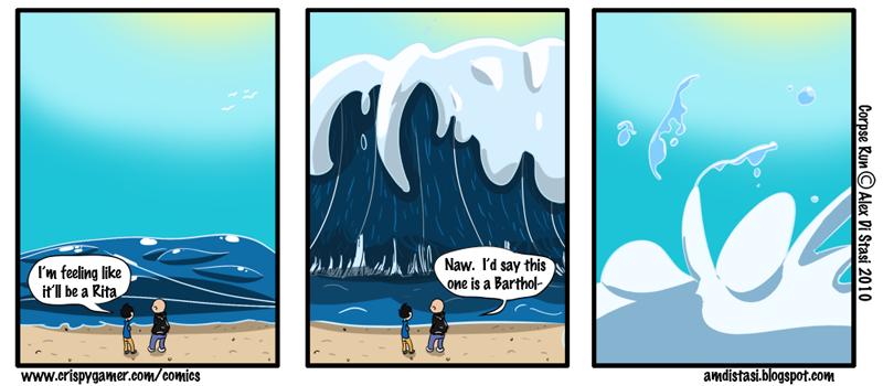 Corpse Run 014: Why we don't name Tsunamis