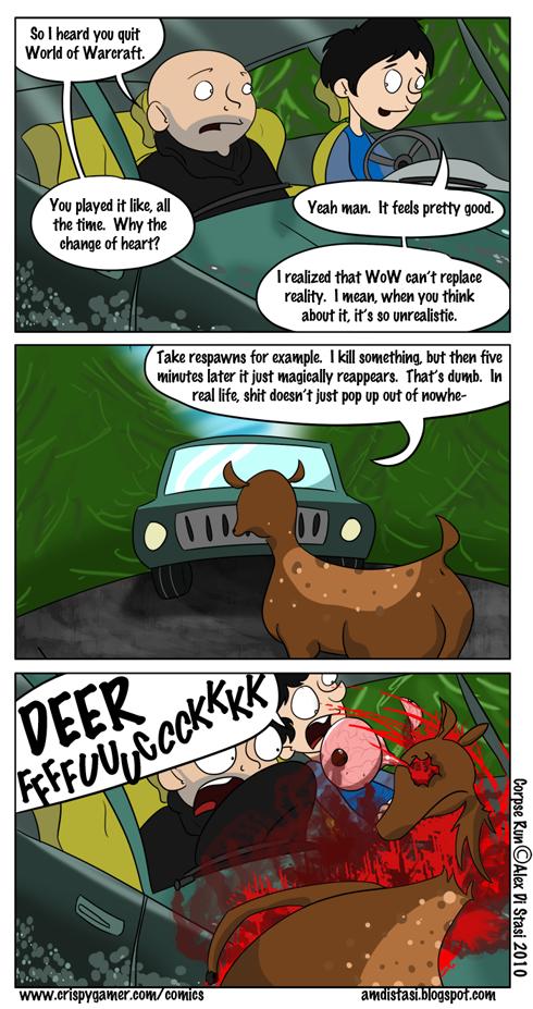Corpse Run 017: (spawn) Camping