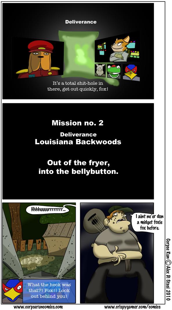 Corpse Run 045: Aim for the banjo