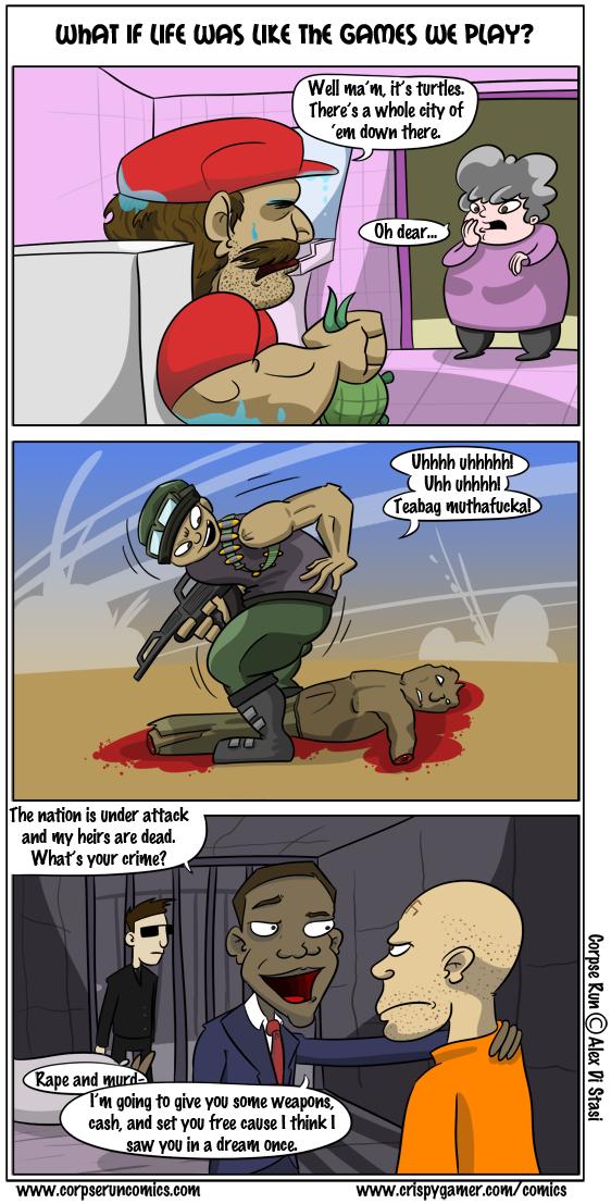 Corpse Run 083: Reality