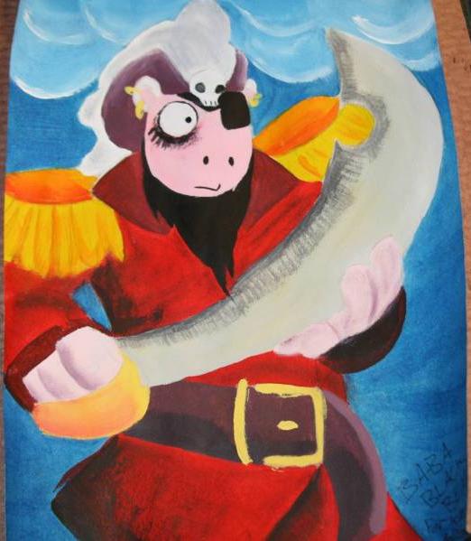 Kat's Korner 001: Pirate Sheep