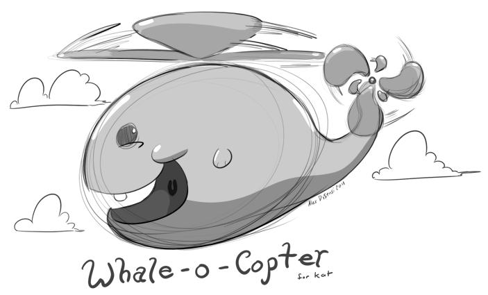 Kat's Korner 018: Whale-o-Copter