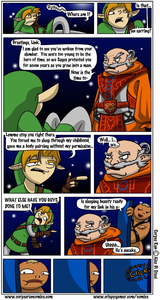 Corpse Run 114: Link's Awakening