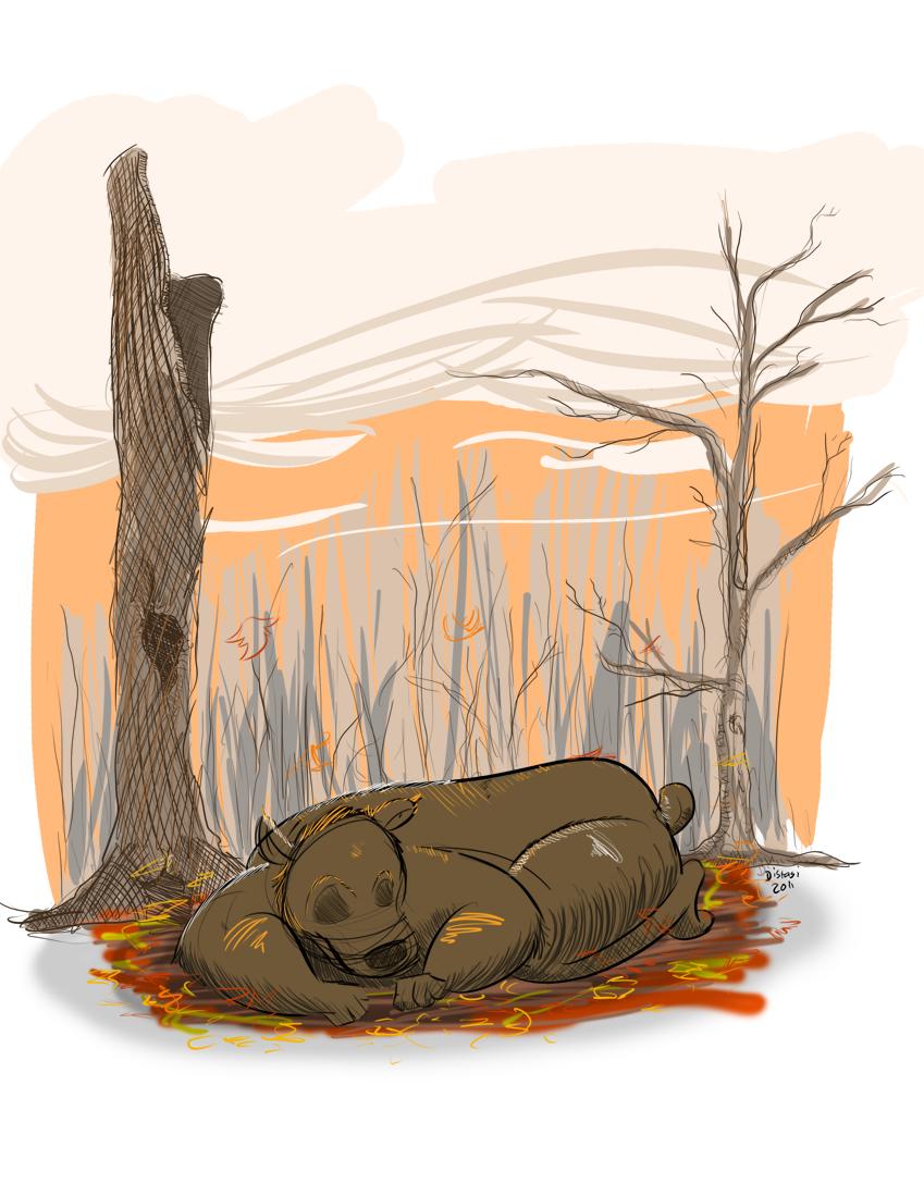 Kat's Korner 037: Autumn Bear