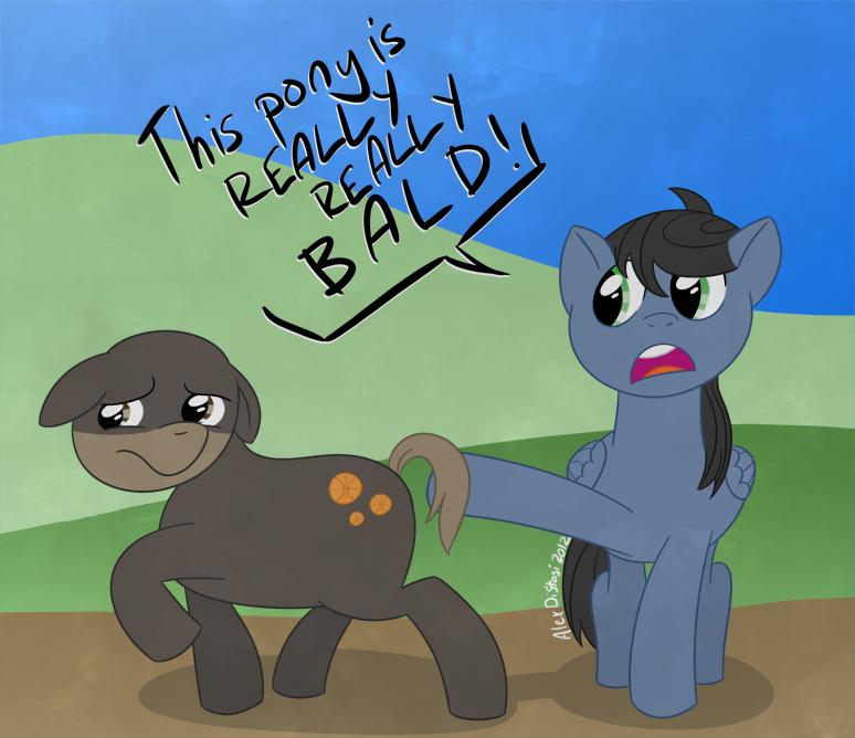 Kat's Korner 042: A wild Earth Pony (named Dan) appears!