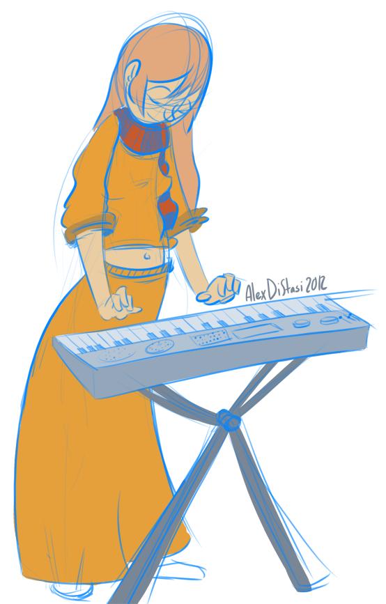 Kat's Korner 044: Piano Chick