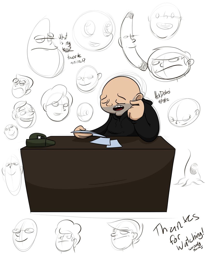 Kat's Korner 064: Desk Dan & Doodles
