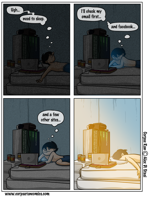 Corpse Run 220: Internet addiction =/= insomnia