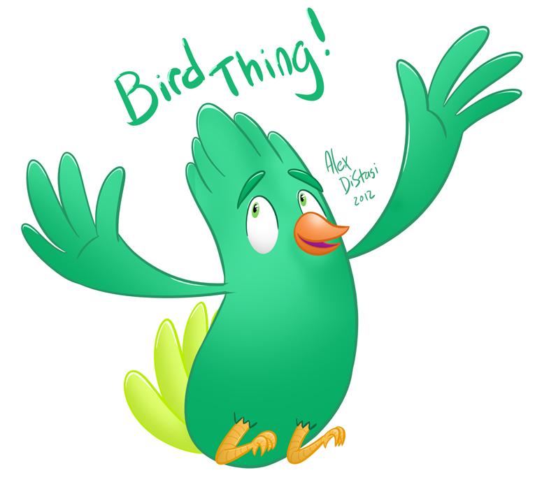 Kat's Korner 104: Bird thing!