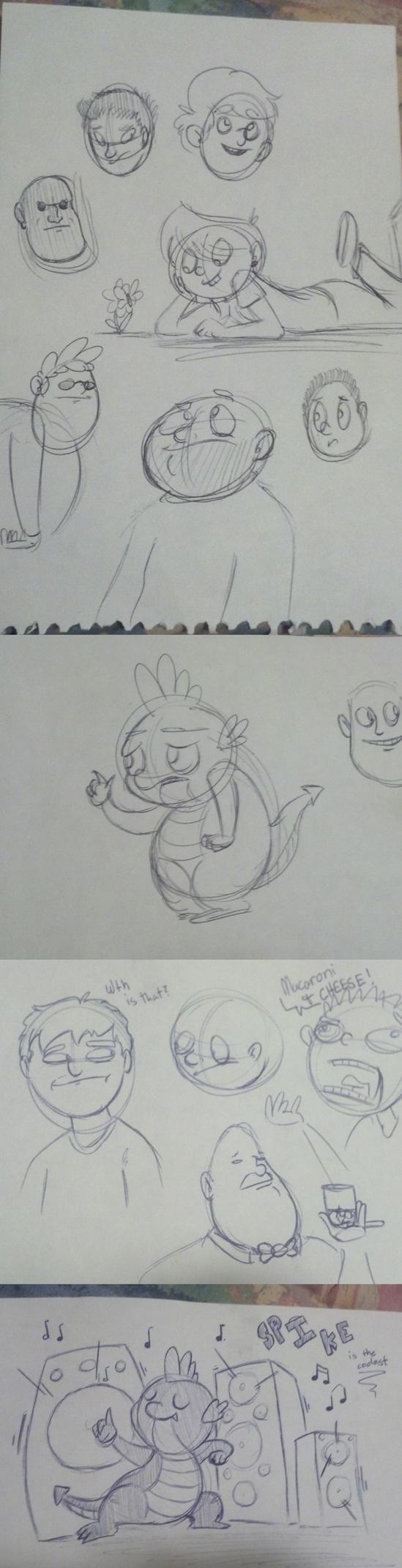 Kat's Korner 106: Arts & Crafts doodles