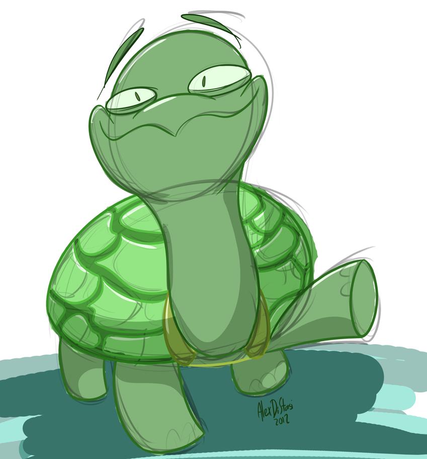 Kat's Korner 113: Sketchy Turtle
