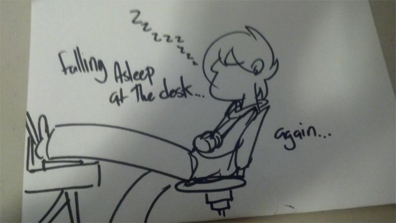 Kat's Korner 115: Snoozing on the job