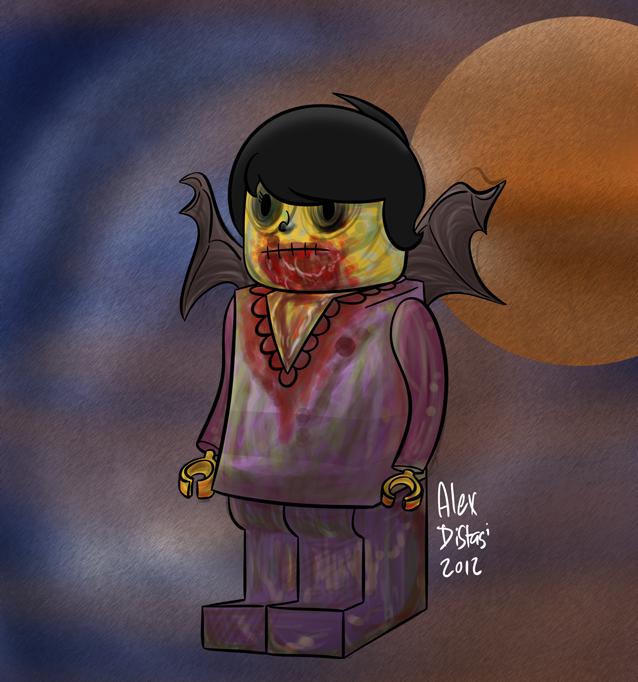 Kat's Korner 137: Lego-Zombie-Princess-Gargoyle-Alex