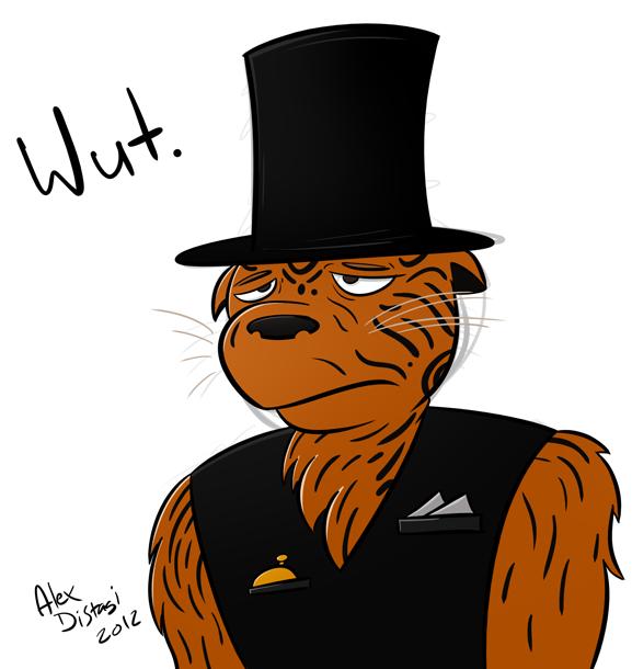 Kat's Korner 140: Sad, Hatted Tiger