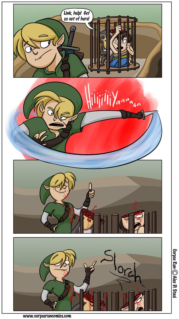 Corpse Run 265: Hiiiiya!
