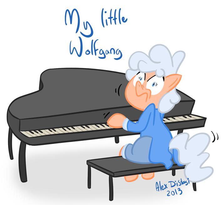 Kat's Korner 218: My little Wolfgang