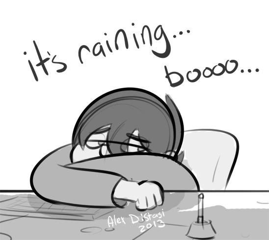 Kat's Korner 236: Raining