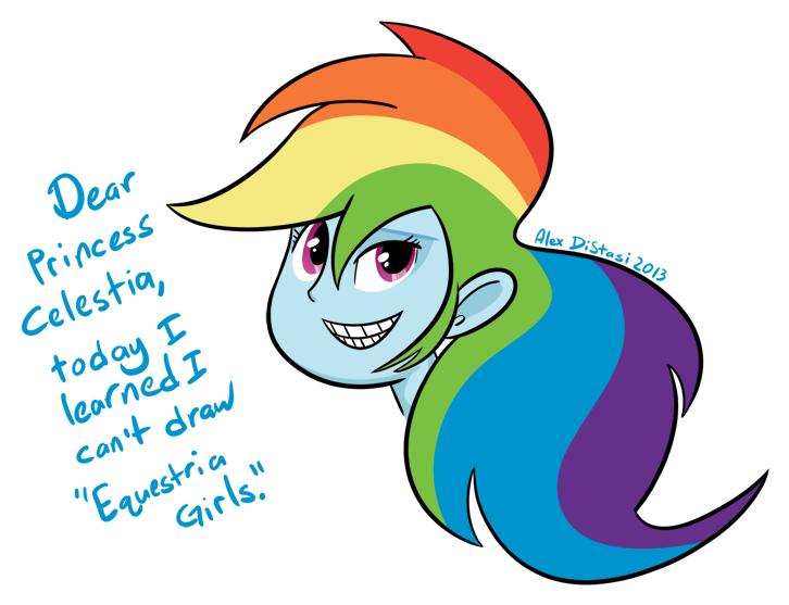 Kat's Korner 266: EG Rainbow Dash