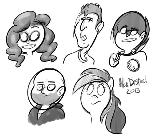 Kat's Korner 278: Doodle bunch!