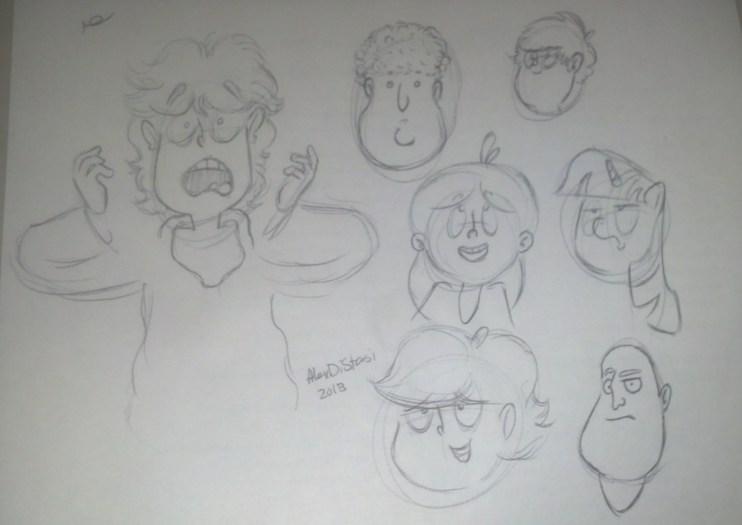 Kat's Korner 288: Nightimish doodling