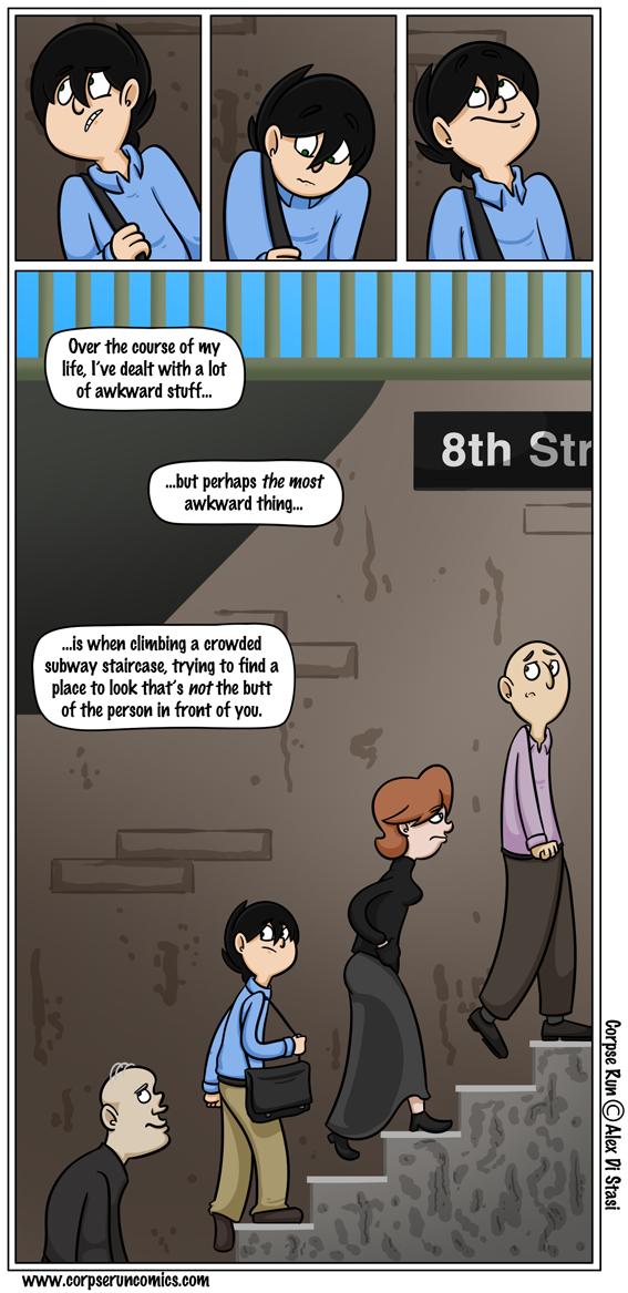 Corpse Run 353: The asscent