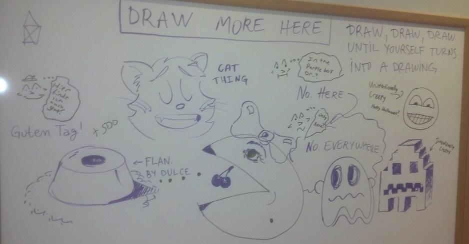 Kat's Korner 296: Work doodle board