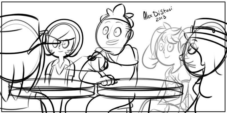 Kat's Korner 298: Tomorrow's first panel!