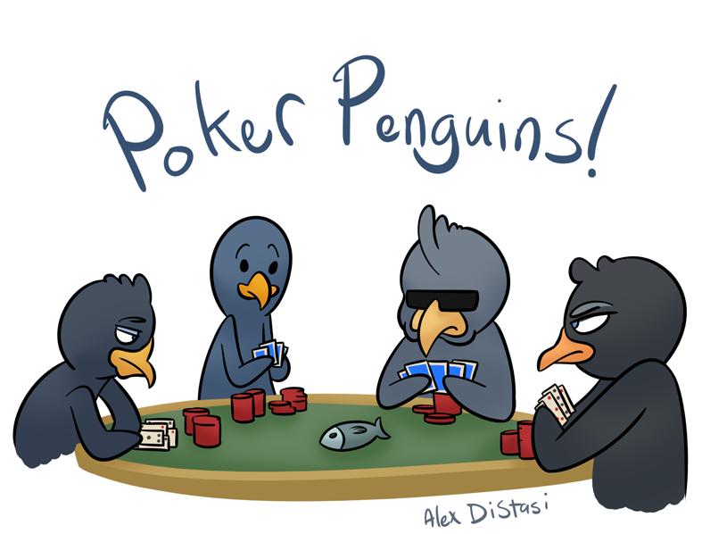 Kat's Korner 303: Poker penguins!