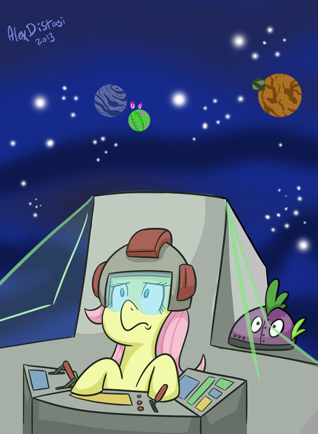 Kat's Korner 315: Fluttershy in SPACE