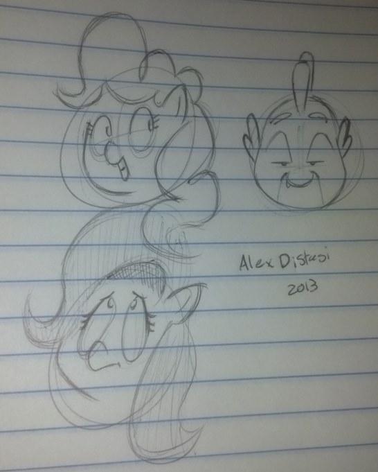 Kat's Korner 321: Them doodles!
