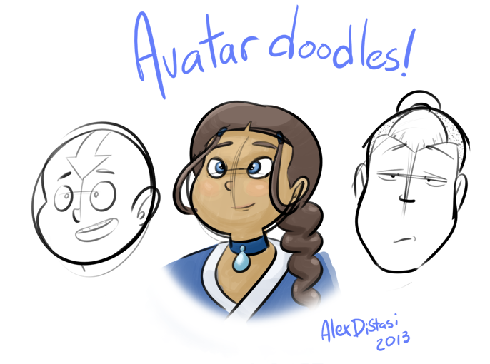 Kat's Korner 322: Avatar doodles!