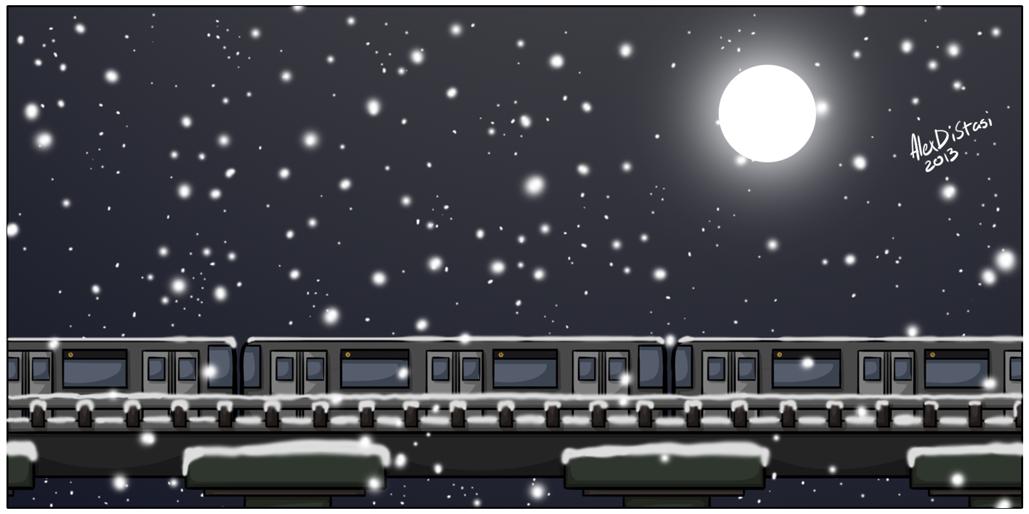 Kat's Korner 325: Snow train