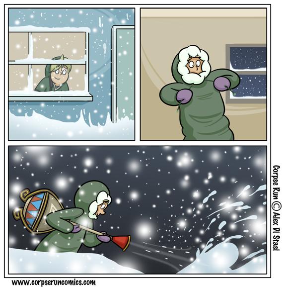 Corpse Run 375: Snow bellows