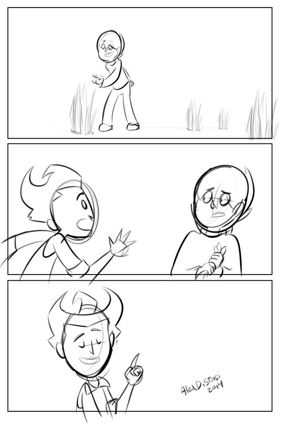 Kat's Korner 334: Don't Starve comic doodle