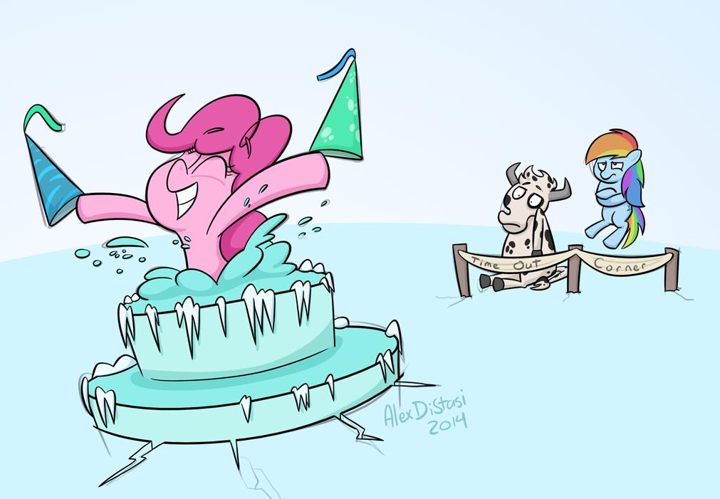 Kat's Korner 344: Pinkie cake!