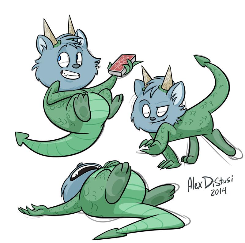 Kat's Korner 351: The half cat half dragon
