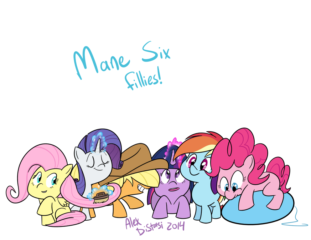 Kat's Korner 354: Mane six fillies