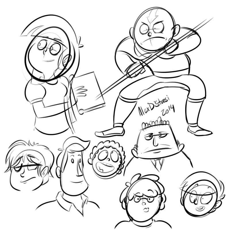 Kat's Korner 361: More doodles!