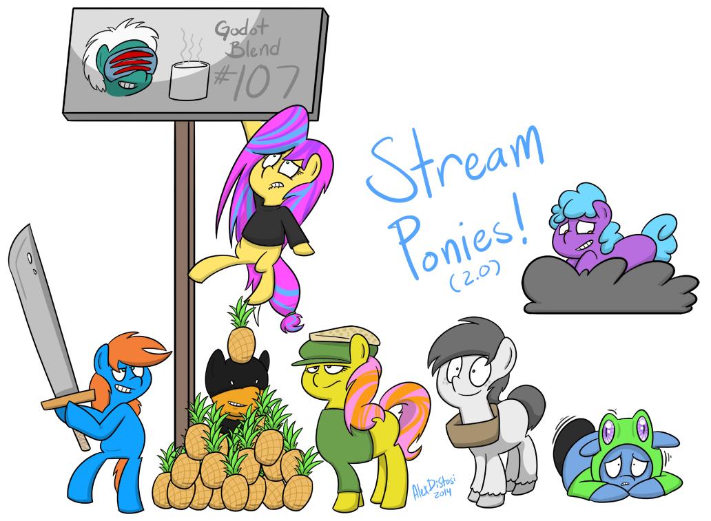 Kat's Korner 401: Stream Ponies 2.0
