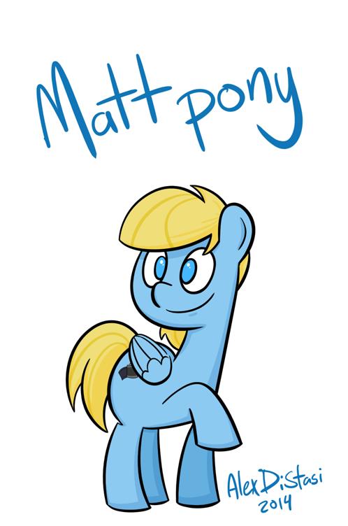 Kat's Korrner 410: Matt pony!