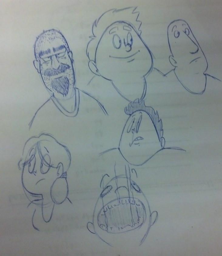 Kat's Korner 421: Booth doodles part seven