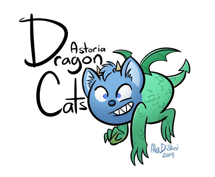 Kat's Korner 430: Astoria Dragon Cats!