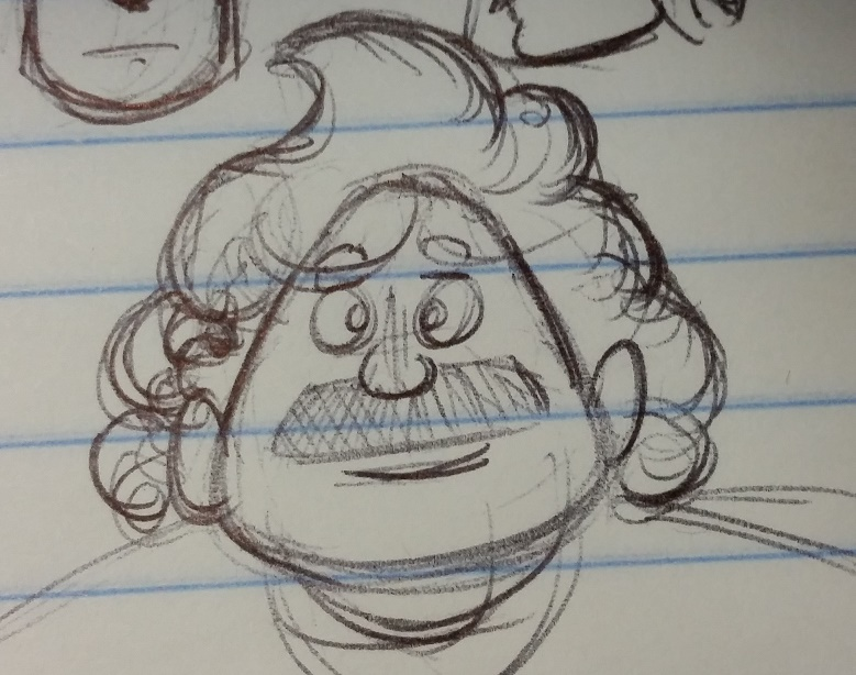 Kat's Korner 505: Another doodle guy