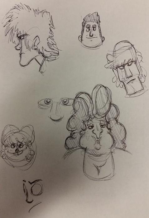 Kat's Korner 576: On hold doodles are back!