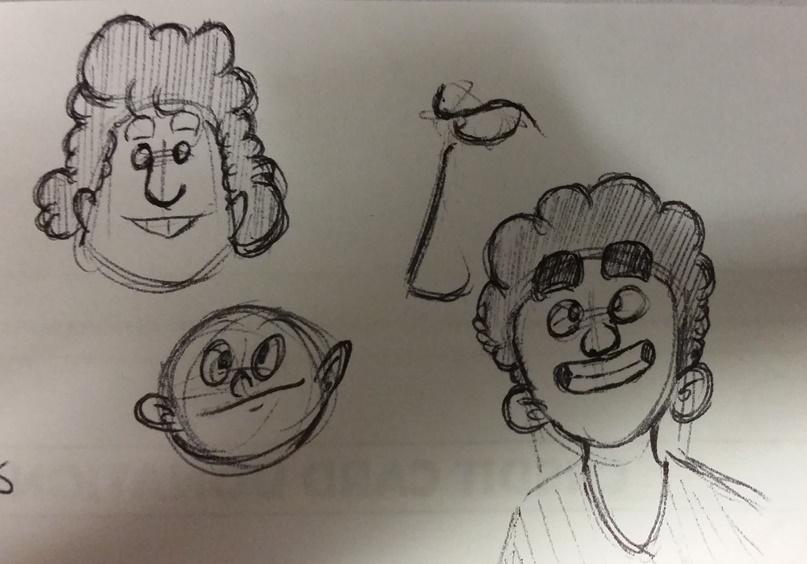 Kat's Korner 577: Doodles on hold