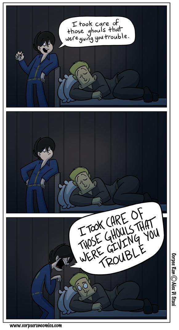 Corpse Run 571: Wake up call