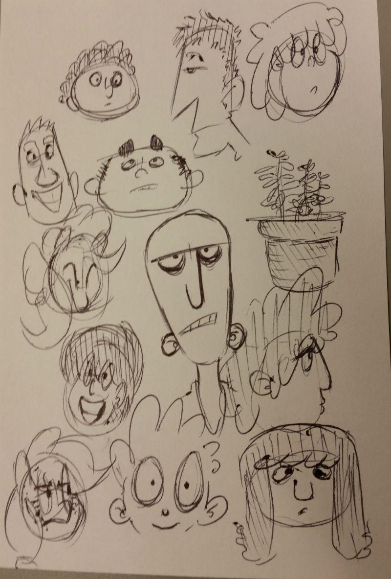 Kat's Korner 636: Workplace doodles!