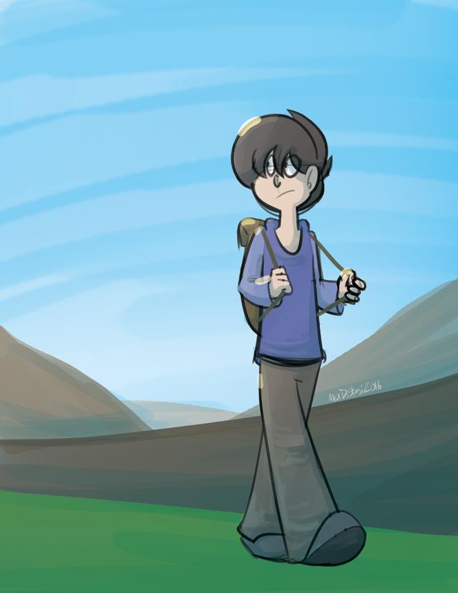 Kat's Korner 648: Walking somewhere?