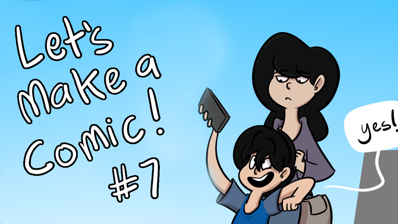 Kat's Korner 654: Let's Make a Comic!  #7